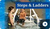 Buy Pool Steps and Ladders for sale