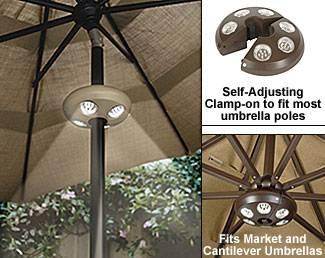 market umbrella lights string | Pottery Barn