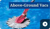 Buy Above-Ground Pool Vacuums on sale