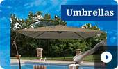Buy Poolside Umbrellas on sale